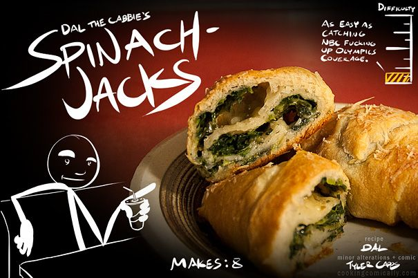 Spinach Jacks!...and pretty much everything else on this website.