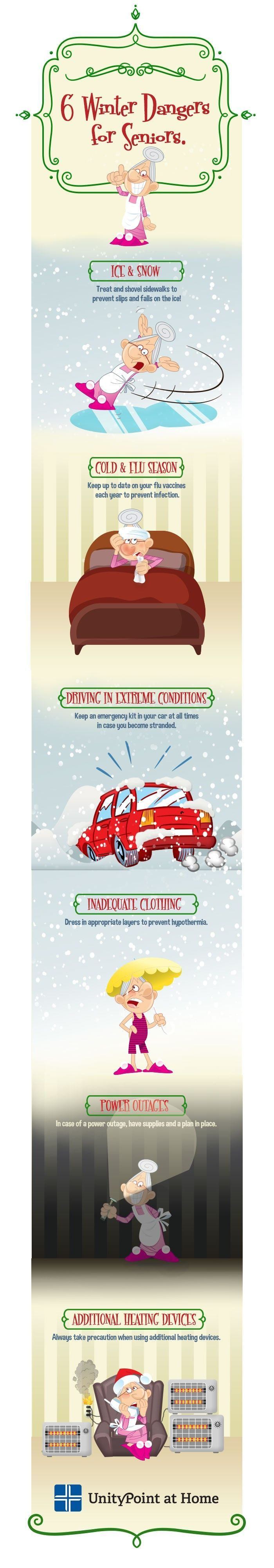 The cold winter months can be dangerous for everyone, especially the elderly…