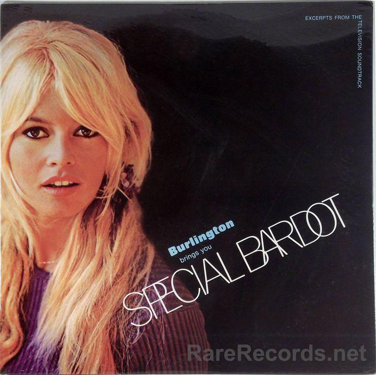 Brigitte Bardot Special Bardot Sealed Promo Only 1968 Soundtrack Lp Brigitte Bardot Bardot Cool Album Covers