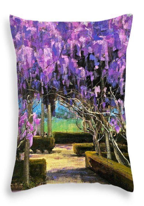 Throw Pillow by Australian Artist Georgia Mansur http://fineartamerica.com/products/productconfigurator.html?existingid=3121874