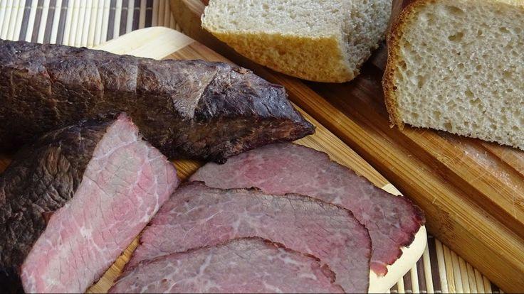 Мраморная говядина варёно-копчёная. Как коптить мясо в домашних условиях.
