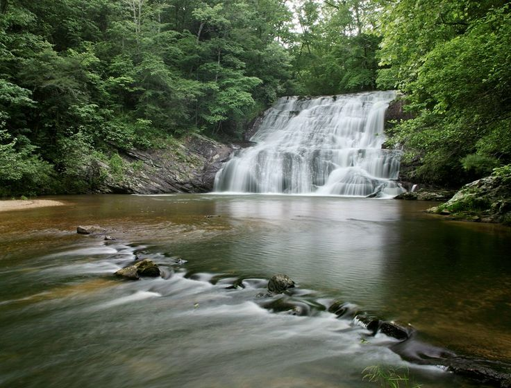 Dicks Creek Falls In Dahlonega Ga Camping Pinterest