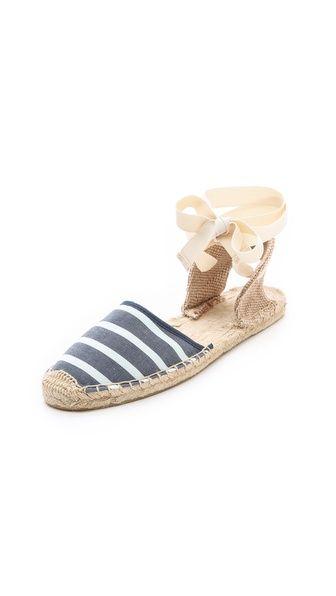 Soludos Stripe Sandals