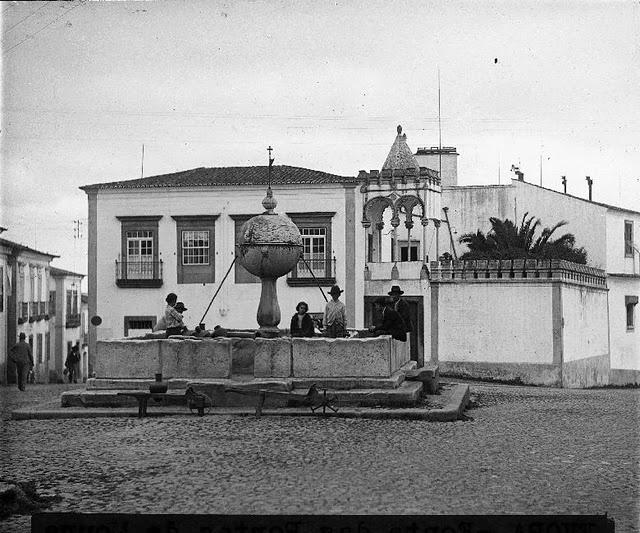 1910 - 1920  Legenda Fonte da Porta de Moura