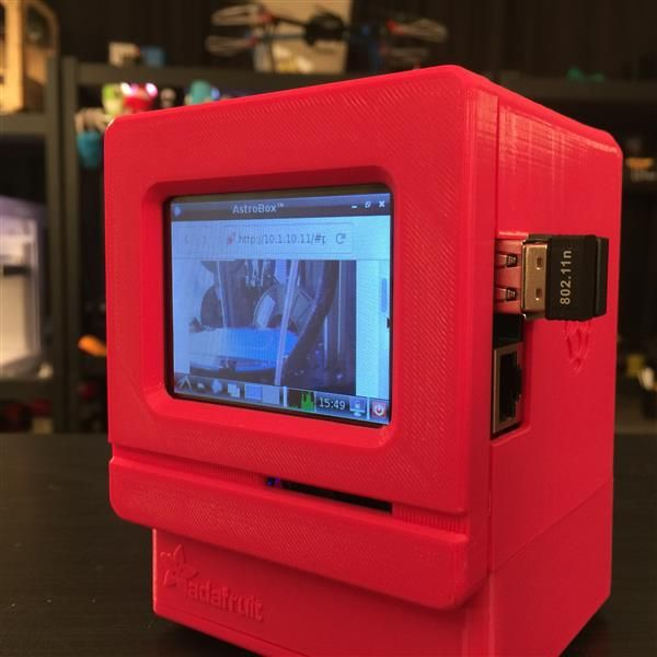 91 best 3d printing images on pinterest printers cnc projects and 3ders build your own raspberry pi mini 3d printing monitor 3d printer fandeluxe Images