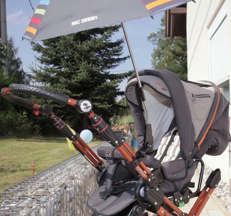 Hartan Topline X mit Sonnenschirm, Regenvollschutz, Fliegenschutz