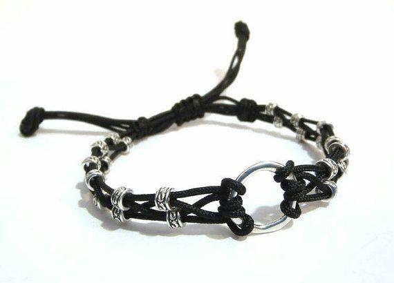 APOLLON men's beaded Bracelet-16010 by APOLLONmj on Etsy