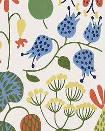 Tapet Herbarium 01 från Boråstapeter