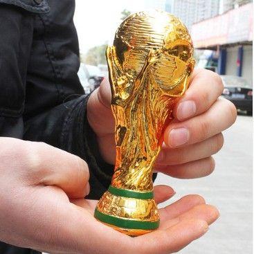 2014 малый размер 13 см бразилия кубок мира трофей 2014 Бразилия Кубка Мира Трофей лучший подарок футбольный фанат
