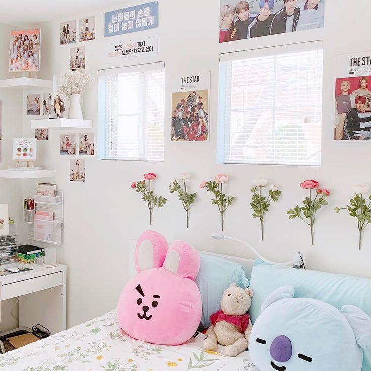 Kpop Room Aesthetic Army Room Decor Room Ideas Bedroom Aesthetic Bedroom