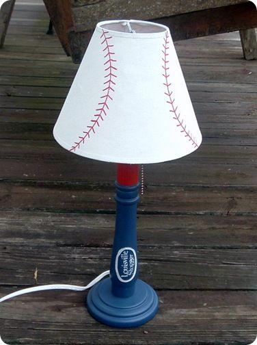 I Wonder If Could Make This Baseball Lamp