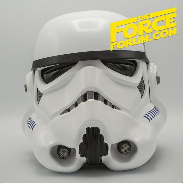 The Classic White Trooper Helmet As Featured In The Original Trilogy Is Brought To You In Painstaking Detail From The Force Helmet Star Wars Collection Trooper