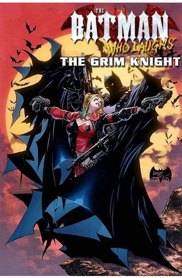 BATMAN WHO LAUGHS #2 GRIM KNIGHT MAIN COVER NM