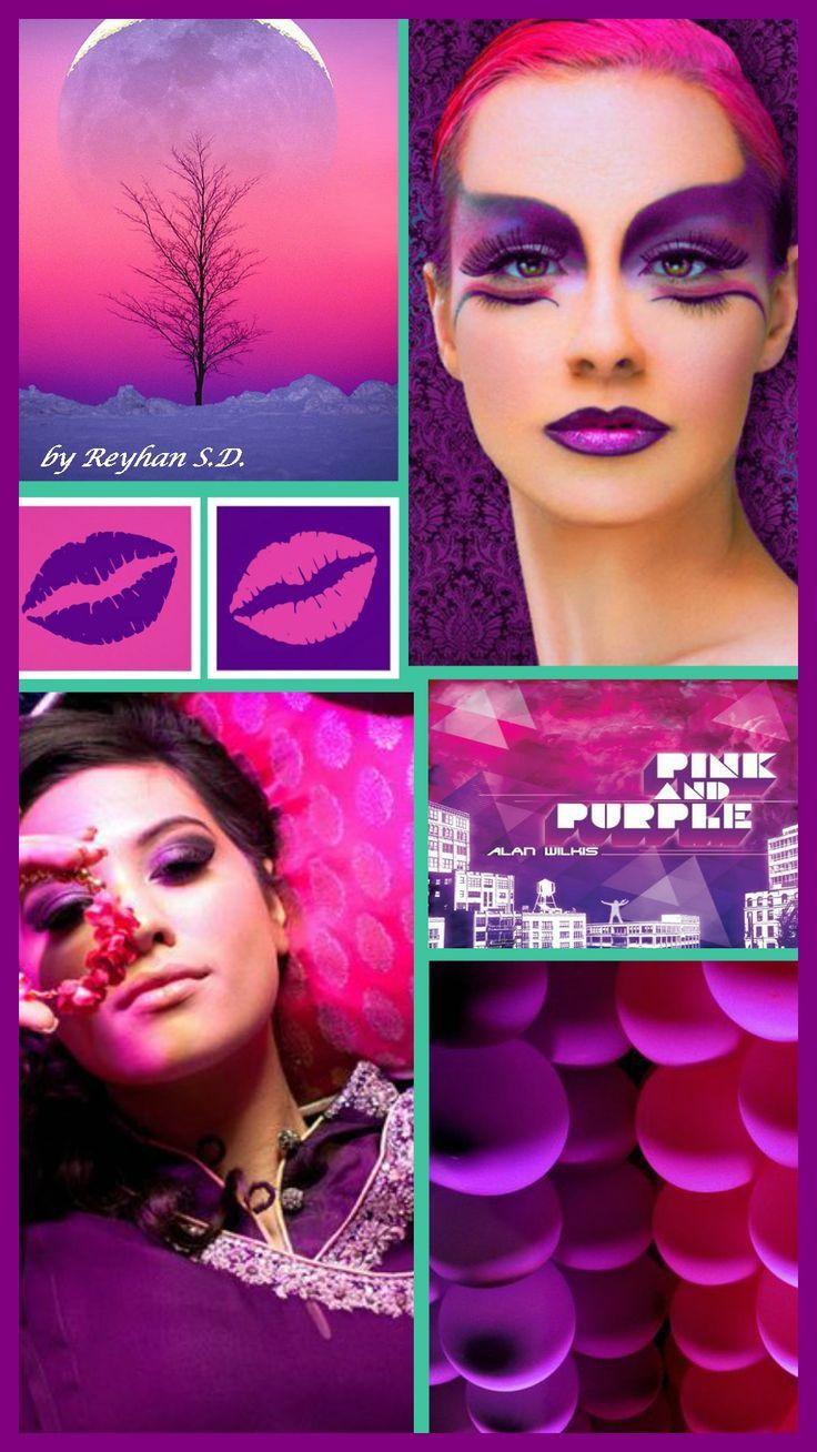 '' Pink & Purple '' by Reyhan S.D.