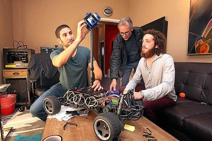 Santa Cruz video firm shoots VICE News 'Drop Zone' virtual reality film