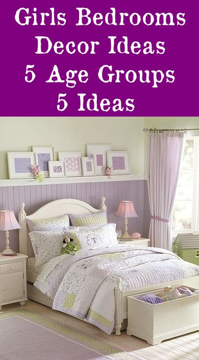 Decorating Ideas For S Bedrooms 5 Age Groups Toddler Room Decor Bedroom Kids