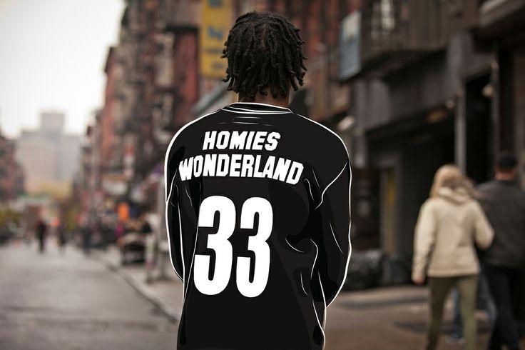Agata Bieć for Homie's Wonderland NYC #homieswonderland #agatabieć #digitalart #streetfashion #illustration #lookbook #NYC #clothing #wear #fashion #style #hype #swag