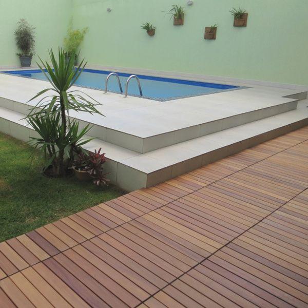 Flexdeck Brazilian Aru Style Champagne Interlocking Deck Tiles Ping Great Deals On Hardwood