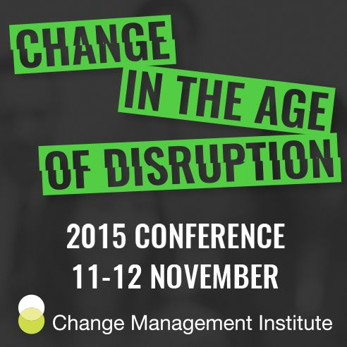 Change in the age of disruption, shared learning forum by CMI   simply communicate