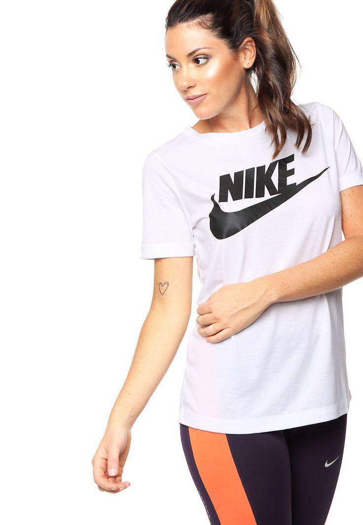 Remera Blanca Nike Nsw Essntl Tee Hbr - Comprá Ahora | Dafiti Argentina
