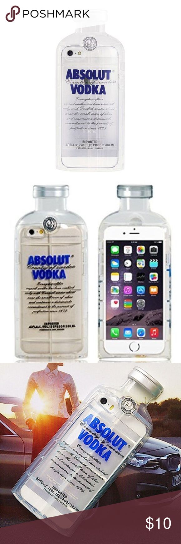 Absolut vodka iPhone 6S cellphone Case / Cover NIB Absolut vodka iPhone 6S cellphone Case , brand new in box. Price firm. iphone 6S Accessories Phone Cases