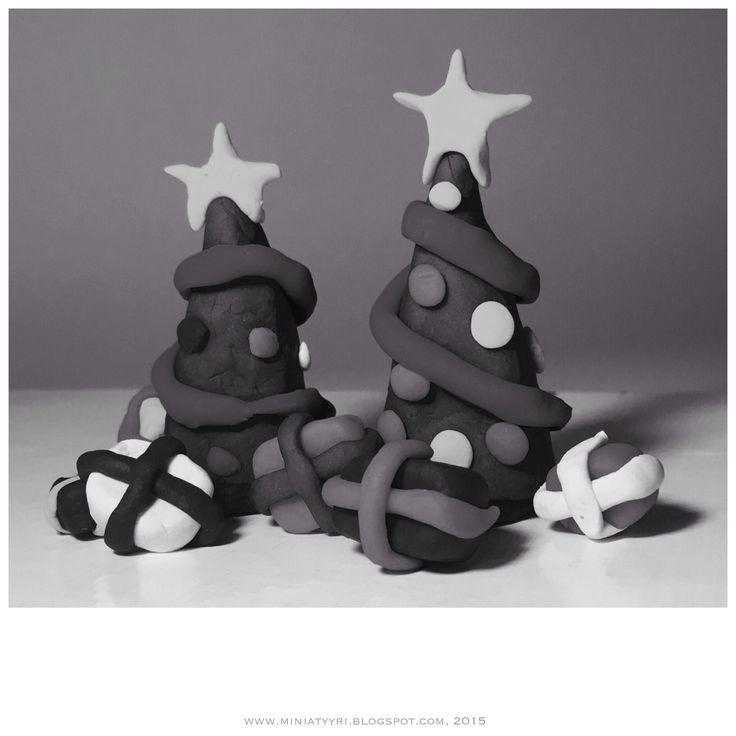 Äidin ja lapsen joulukuuset - Christmas trees of mother and child