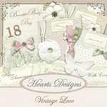Vintage Lace By Hearts Designs