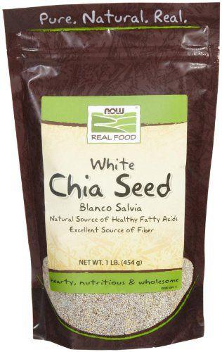 NOW Foods White Chia Seed,1-Pound //Price: $9.29 & FREE Shipping //     #hashtag1
