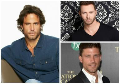 Days of our Lives' Daniel Dies, But Who Gets His Heart: Brady or Eric?: Shawn Christian, Eric Martsolf and Greg Vaughan