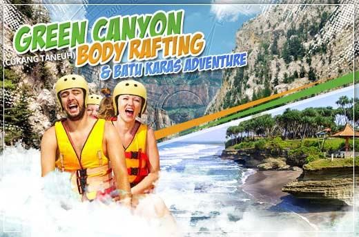 3D/2N Green Canyon Adventure: Transfers, Accommodation & Body Rafting for Rp599.000 instead of Rp1.100.000! Get it now at www.MetroDeal.co.id!