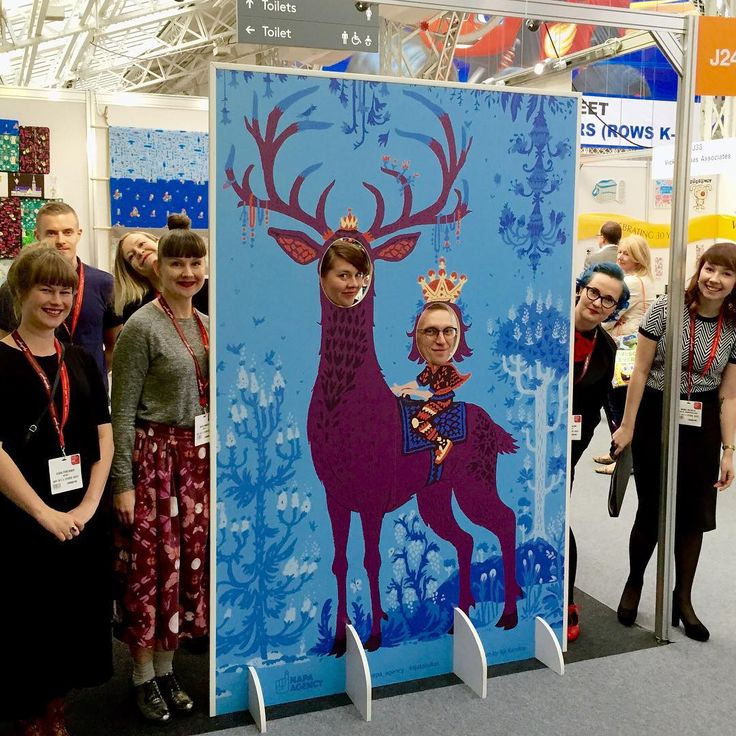 Greetings from London where we took part in BLE 2015! The amazing tintamarresque is by Ilja Karsikas!