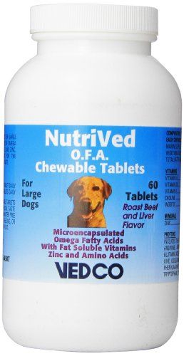 Vedco 60 Count Nutrived OFA Chewable Tablets for Large Dogs *** More info could be found at the image url.