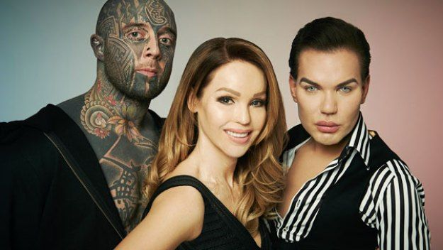 From tattoos to piercings and big boobs, Katie Piper meets people planning major body modifications, and people who've already had them and regret it. Bodyshockers is available now on All 4