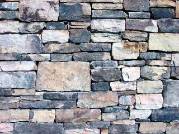 muro de pedras empilhadas, parede