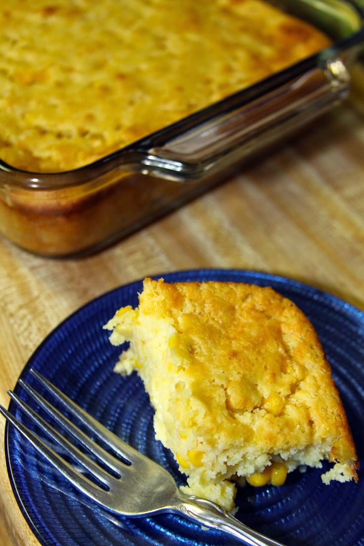 Sweet Corn Spoonbread Casserole - a Southern favorite that goes with any meal!