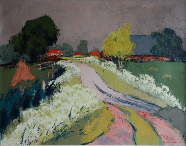 Jannes de Vries, boerderijen in Gronings landschap