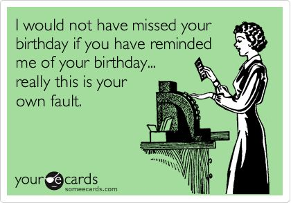 funny belated birthday ecards - Google Search