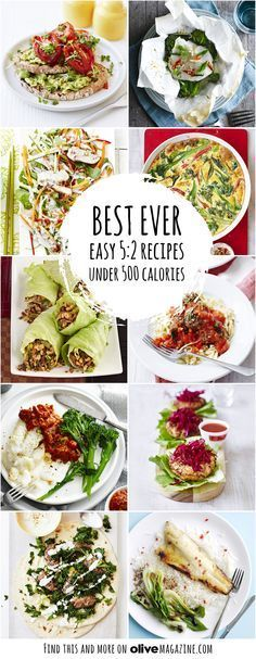 Our easy recipes all under 500 calories, perfect if you're on the 5:2 diet. In fact, all of our recipes are under 300 calories, so you have an extra 200 calories to play with! Low cal versions of classics, healthy soups and light Asian dishes, we have plenty to choose from! Over 30 recipes to see!