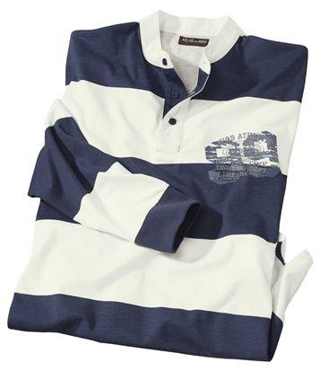 Polo Rugby Col Officier #travel #voyage #atlasformen #formen #discount #shopping #ootd #outfit #formen #hommes #man #homme #men