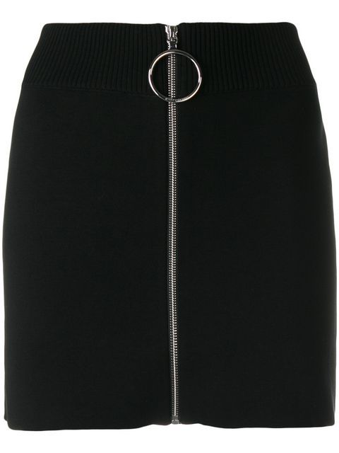 144defac6 Comprar Paco Rabanne minifalda con cremallera frontal. | faldas moda ...