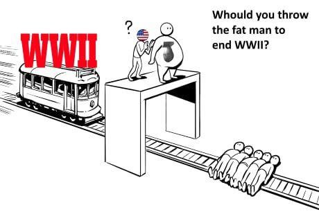 The fat man trolley problem