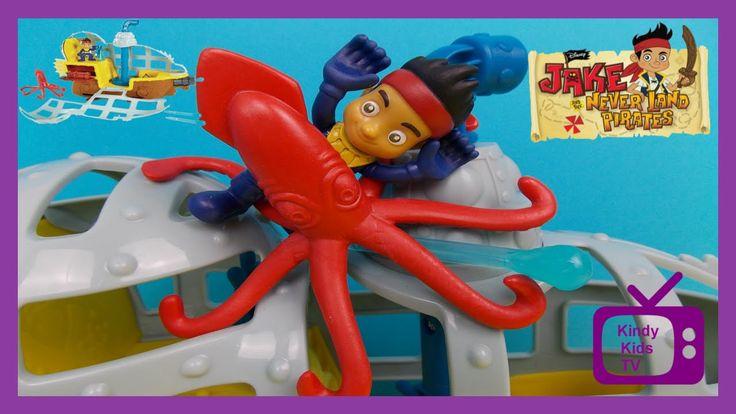 JAKE AND THE NEVER LAND PIRATES. Disney Junior Submarine Bucky Never Sea...