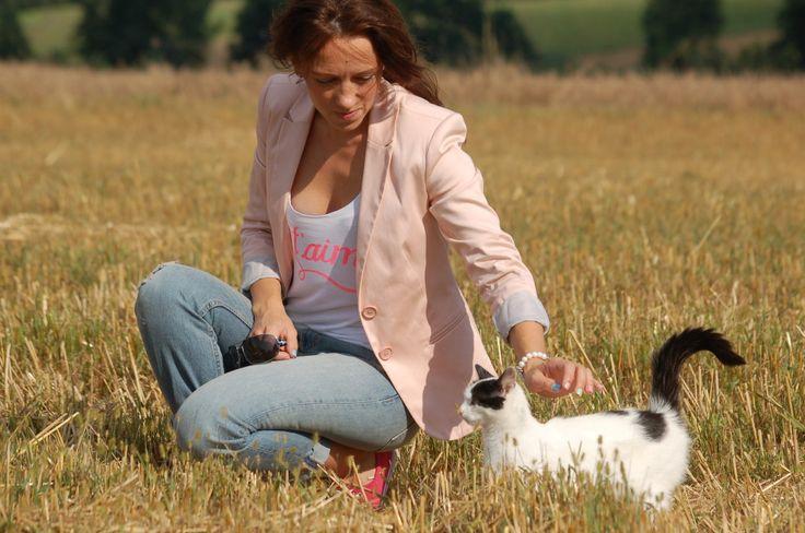 #outifit #set #clothes #jeans #jacket #vilage #ourcat #cat