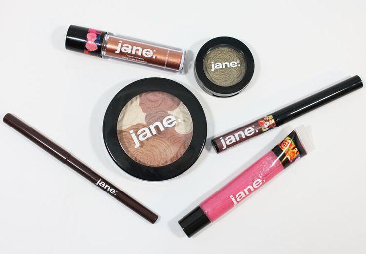 Jane Cosmetics Swatches
