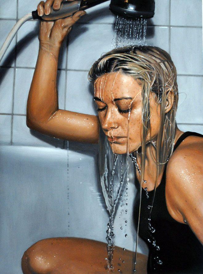 Hyper Realistic Oil Paintings by Linnea Strid
