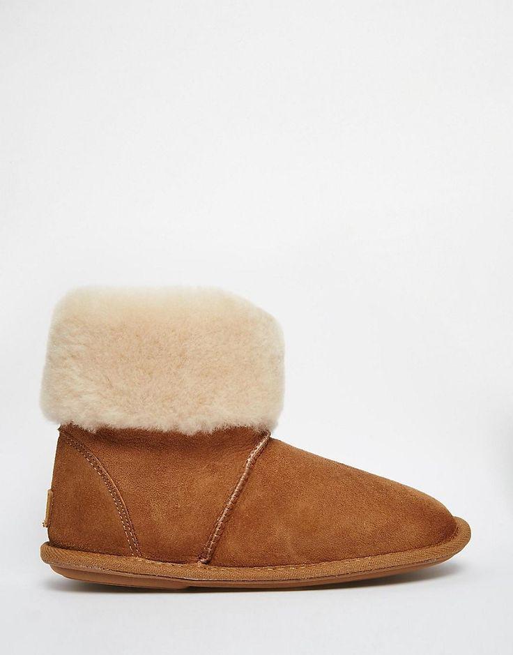 Just Sheepskin Albery Sheepskin Slipper Boots