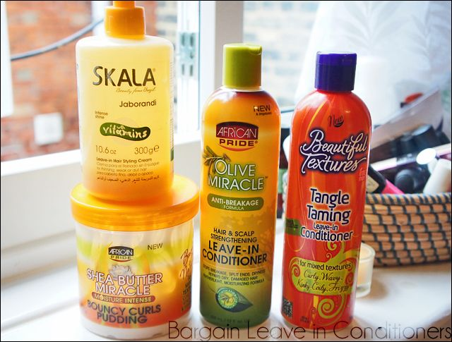Bargain Leave In Conditioners For Curly Natural Or