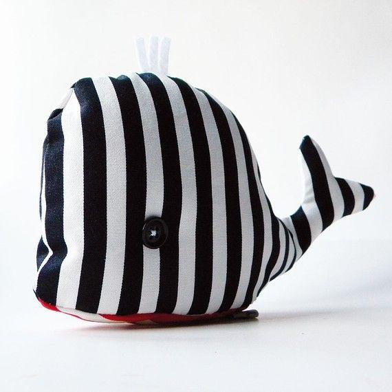 sewing ida: striped whale