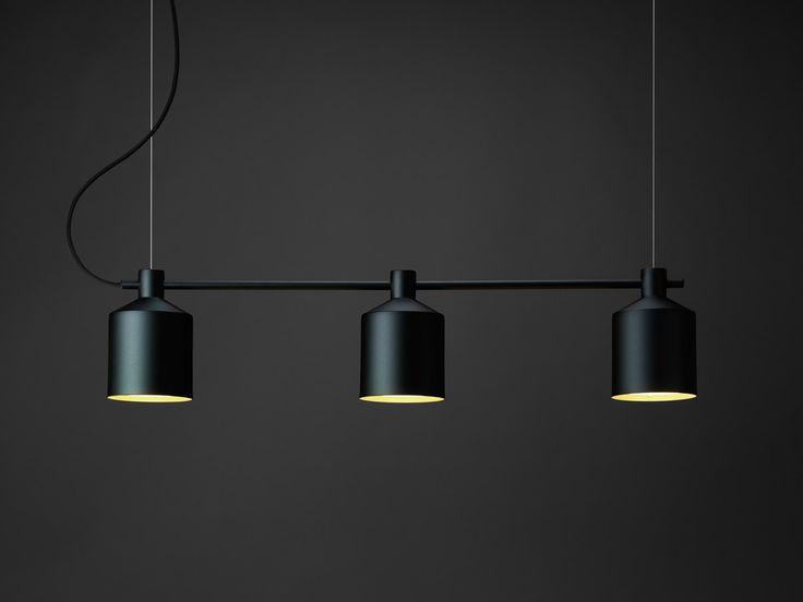 Zero Silo Trio Pendant Light 105mm wide (£650)