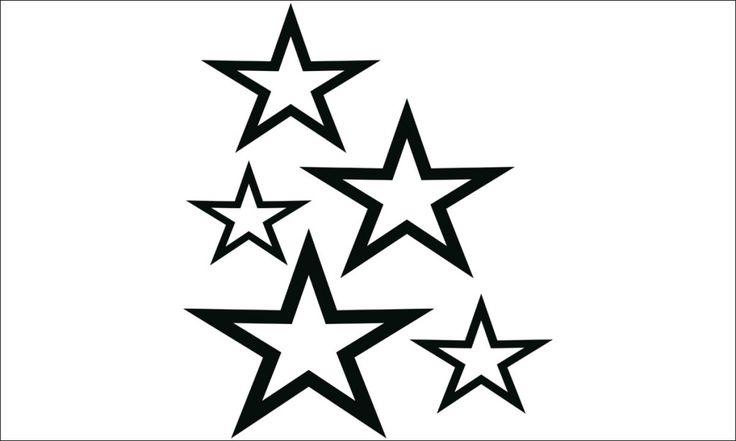 sterne zum ausmalen 09  malvorlage stern erleuchtung